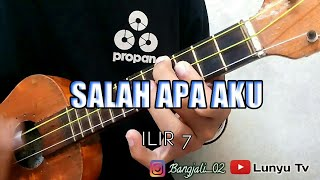 Download Lagu SALAH APA AKU - ILIR 7 KENTRUNG COVER BY LTV MP3