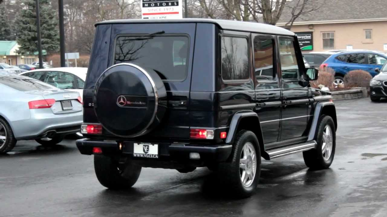 2003 mercedes benz g500 village luxury cars toronto. Black Bedroom Furniture Sets. Home Design Ideas