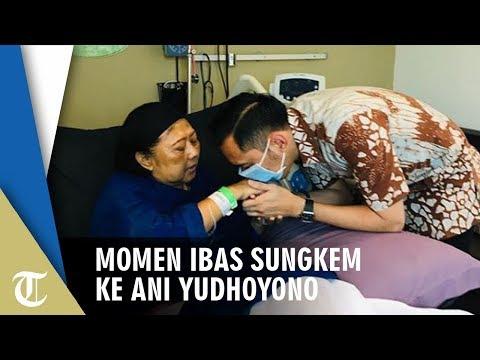 Momen Ibas Sungkem Ke Ani Yudhoyono, Perlihatkan Kondisi Terkini Istri SBY