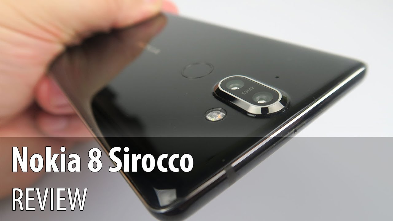 Nokia 8 Sirocco Review (P-OLED Android One Phone With Dual Camera)