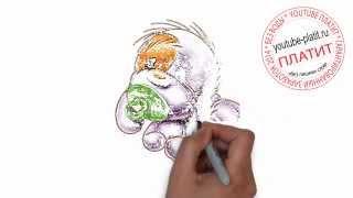 Нарисованные карандашом собаки   Как нарисовать щенка с соской