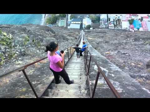 Jacobs Ladder Climb - St Helena, South Atlantic Ocean