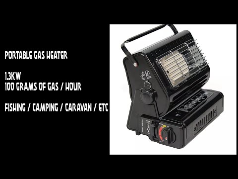 Portable Gas Heater For Fishing, Camping, Etc.