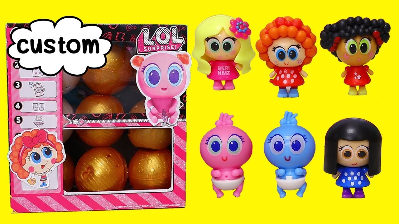 Custom LOL Surprise DIY Box with Tiny Babies   Toys and Dolls Pretend Play Fun for Kids   SWTAD