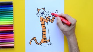 How to draw Hobbes [Calvin and Hobbes]