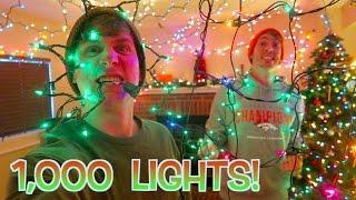 1,000 CHRISTMAS LIGHTS OVERLOAD!