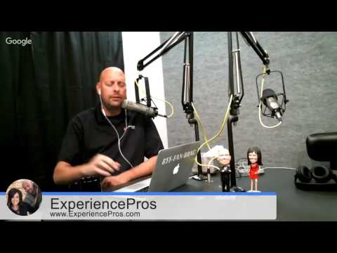 Experience Pros Radio Show - Thursday, Oct. 13, 2016