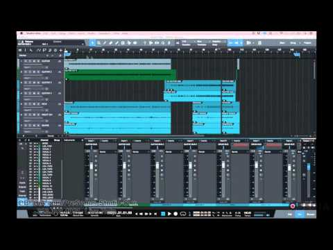 How to Export Stems And Raw Tracks from PreSonus Studio One