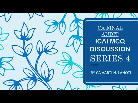 CA Final/Inter MCQs