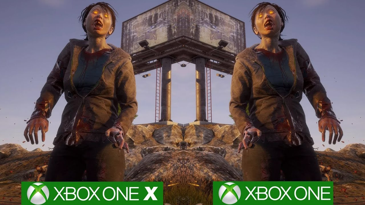 State of Decay 2: Xbox One X vs Xbox One Graphics Comparison [4K/60fps]