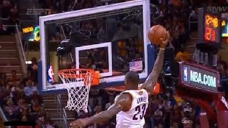 Best Dunks of 2015/2016 NBA Finals!