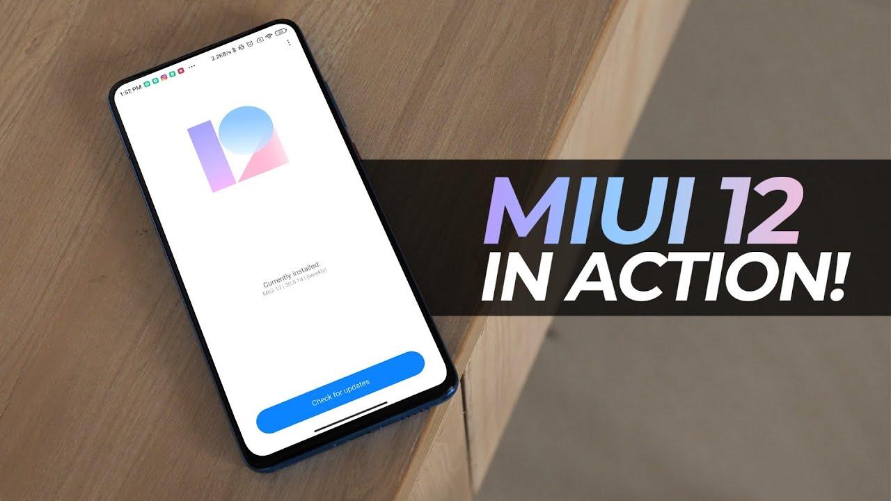 MIUI 12 (Global): A Detailed Look!