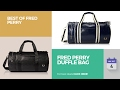 Fred Perry Duffle Bag Best Of Fred Perry