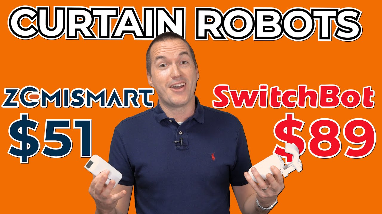 Automate Existing Curtains Easy No Wires Switchbot Vs Tuya Curtain Robots Full Review Hands On Youtube