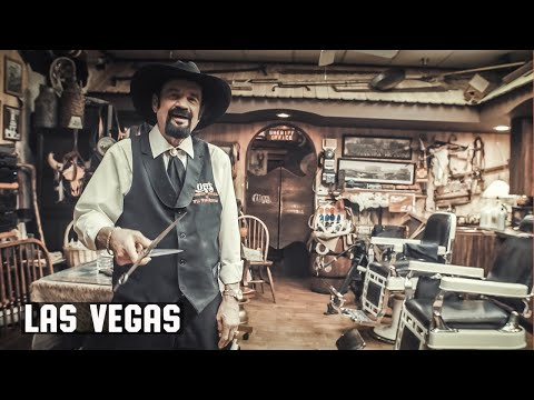 ENTER THE GIVEAWAY! - Cliff's Barber Shop Corral, Las Vegas - Walk Around and Hat Giveaway!