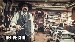 ENTER THE GIVEAWAY - Cliffs Barber Shop Corral Las Vegas - Walk Around and Hat Giveaway