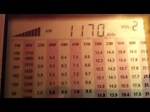 1170 KHz Radio Belarus