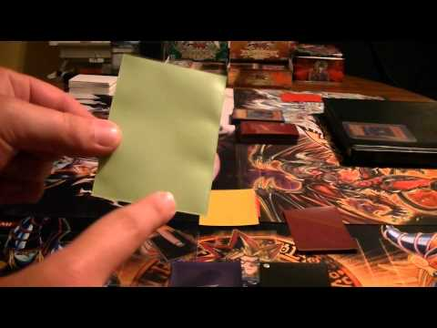 Yugioh! Tips: Card sleeves #2