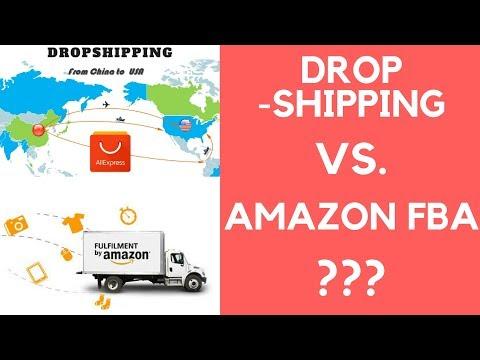 Amazon FBA vs. Dropshipping | Wo kann man mehr Geld verdienen? (Vor- und Nachteile) thumbnail