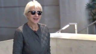 Dame Helen Mirren Waves Off Photographer When Asked About Weinstein Scandal