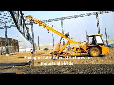 Fabrication of Industrial Sheds. Warehouse Sheds & Customized factory requirements