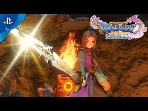 Dragon Quest XI - E3 2018 The Legend of the Luminary Trailer | PS4