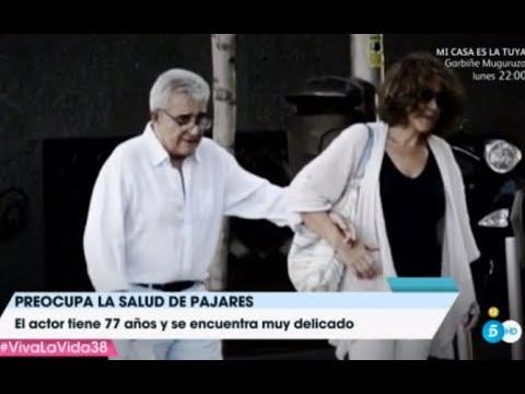 Preocupación por el deterioro físico de Andrés Pajares
