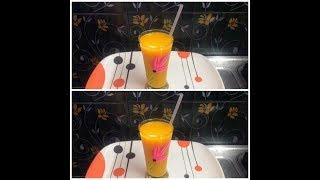 Mango juice in tamil /Mango frooti /Natural refreshing mango juice