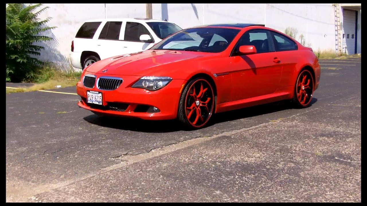 2013 Bmw Black Rims Red
