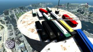 GTA 4 Event Mayhem - King of the Cup Multiplayer Gameplay
