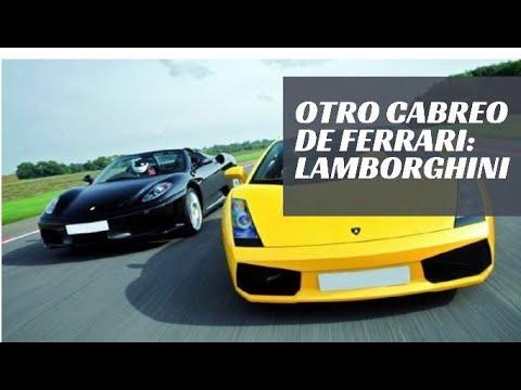 OTRO cabreo de Ferrari: la historia de LAMBORGHINI