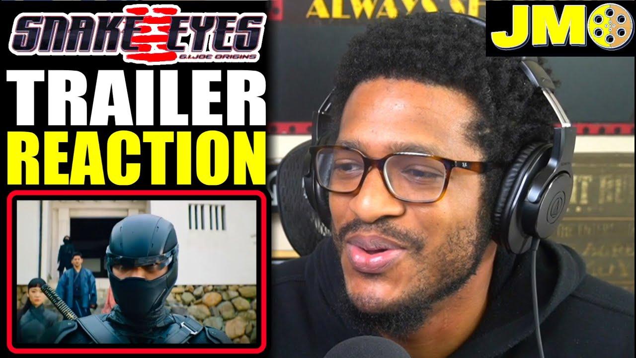 Snake Eyes G.I. Joe Origins NEW Trailer 2 (2021) Reaction! | Behind The Mask!