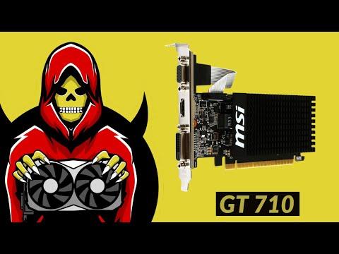 Geforce GT 710 Test In 6 Games (2019)