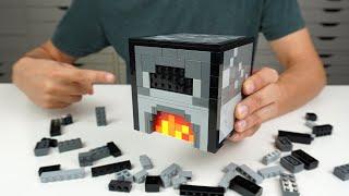 LEGO MINECRAFT FURNACE TUTORIAL