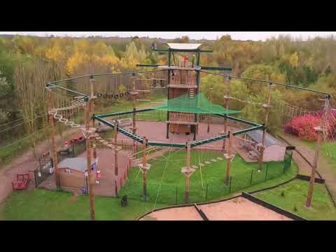 High And Low Rope Courses Setup   Setup Of Multi Activities India Adventures