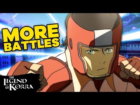 Best Battles in Legend of Korra of All Time! Pt. 2 | Legend of Korra