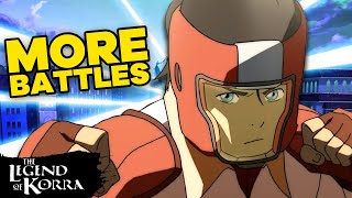 Best Battles in Legend of Korra of All Time! Pt. 2 | Legend of Korra