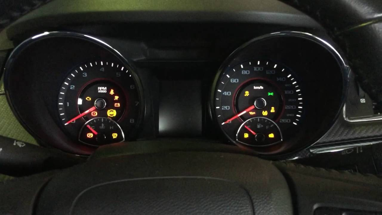 Holden Barina Warning Lights