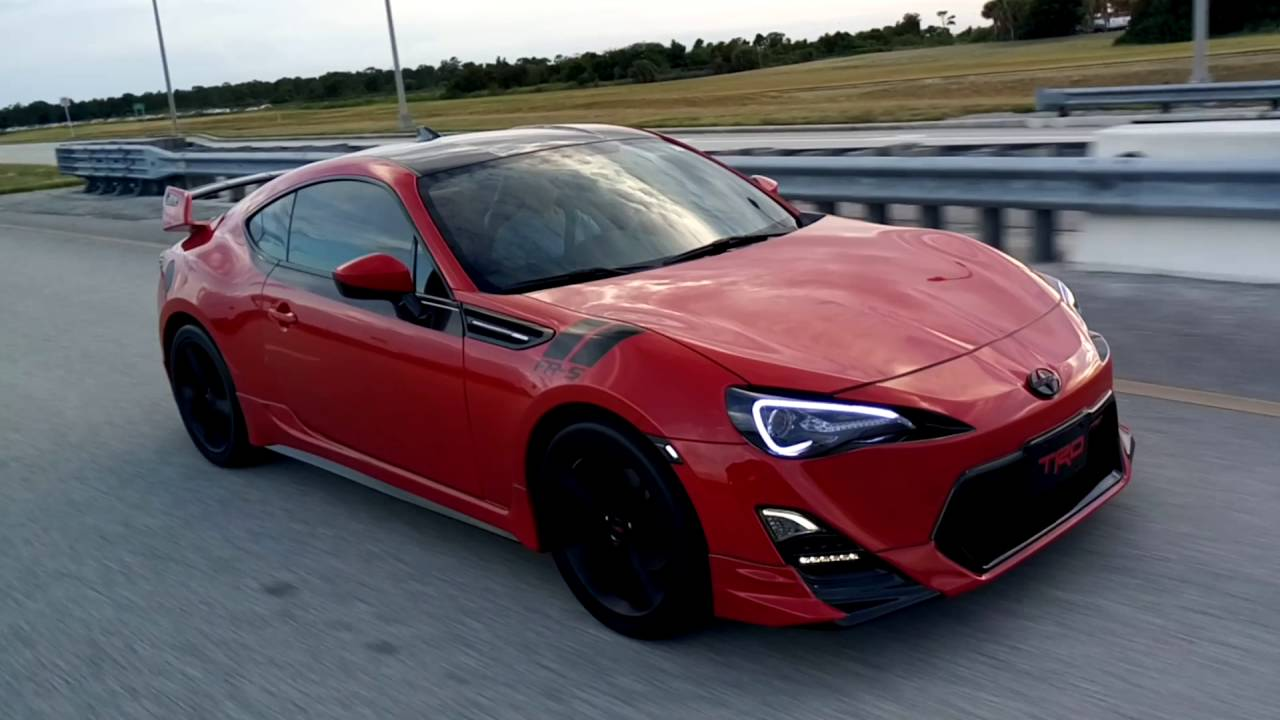 2015 Scion Fr S Trd Custom Live Action View Youtube