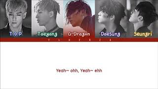 Gambar cover BIGBANG - 'FLOWER ROAD (꽃길)' Lyrics [Han-Rom-Eng]