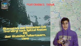 Wörgl Tirol nach Knoten Spittal an der Drau A10 -Kitzbühel,Felbertauern& Lienz - ACTION Dashcam - PS