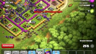 Clash of Clans - Power of 3 Finger Barch