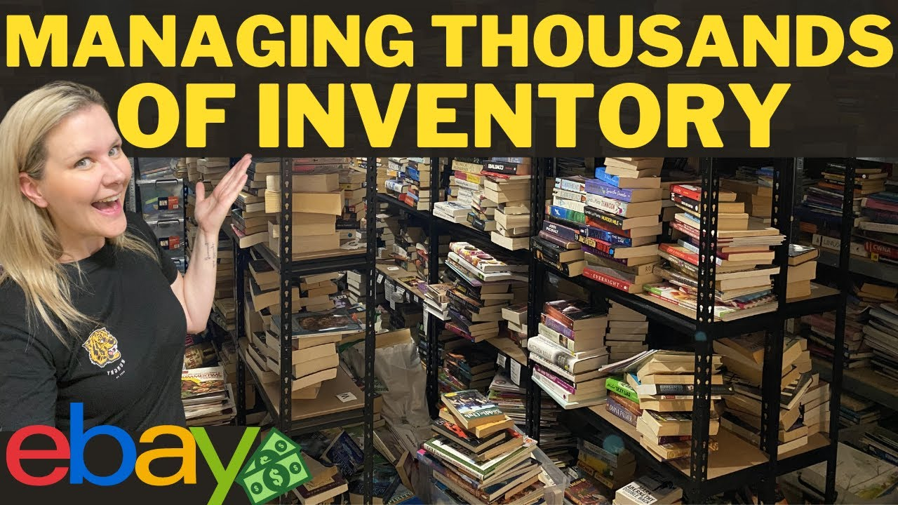 EXACTLY HOW I MANAGE THOUSANDS OF LISTINGS IN MY EBAY STORE