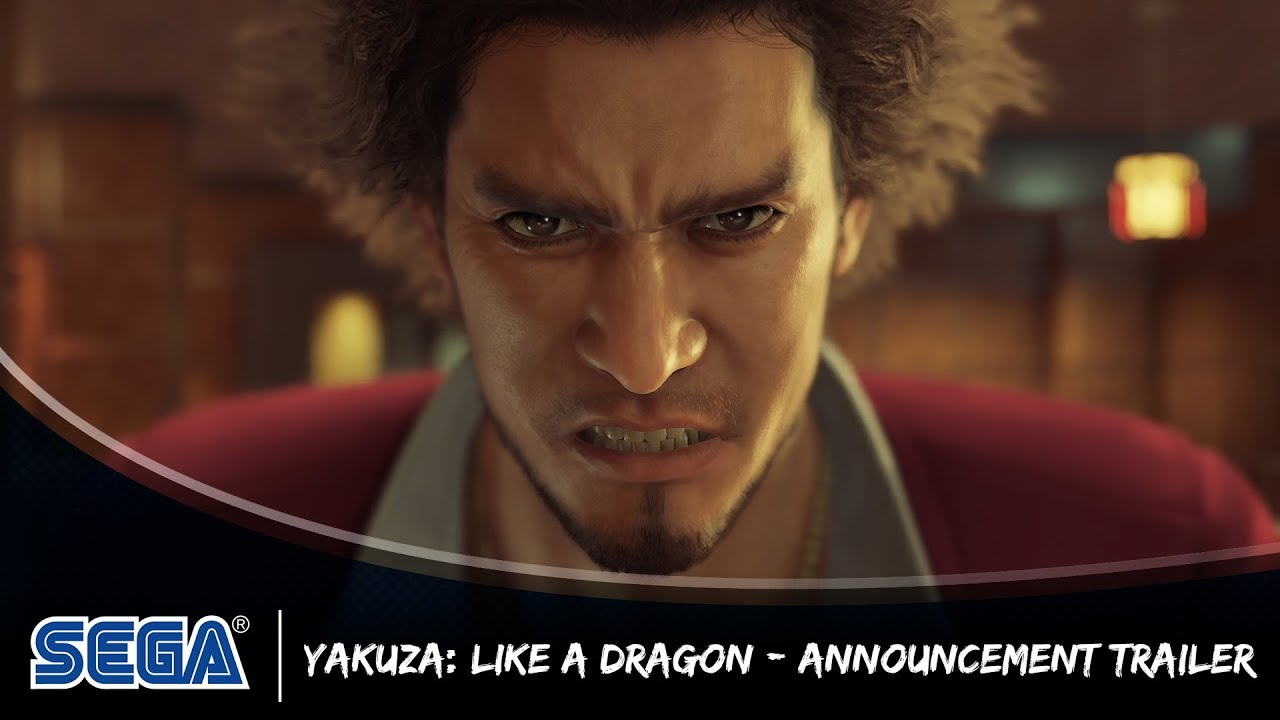 Yakuza Like A Dragon Is Coming To Ps4 In 2020