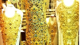 Dubai Gold Souk,  دبي, Gold Market In Dubai, سوق الذهب, Gold Bangles, Gold Souk In Dubai