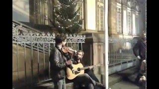 Страсбург, уличные музыканты на рождественском рынке, 6 декабря 2015 г.(, 2015-12-06T20:33:11.000Z)