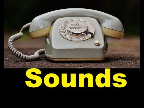Old Phone Sound Effects All Sounds