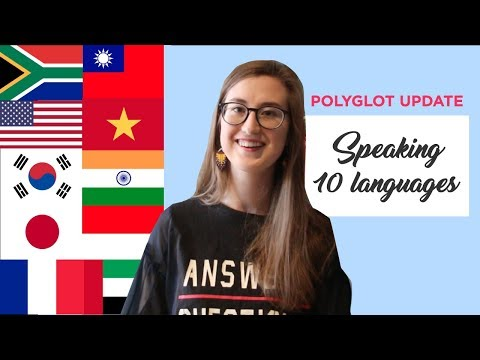 South African speaking 10 languages | 10개국어 말하기