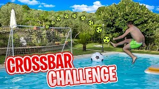 ⚽CROSSBAR CHALLENGE IN PISCINA! 🌊