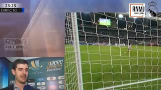 Declaraciones de COURTOIS a RMTV post final SUPERCOPA ESPAÑA Real Madrid 0-0 Atleti